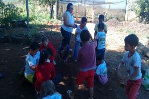Professora e estudantes revitalizam cerrado por meio de viveiro