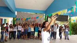 Estudantes realizam atividades abertas contra o racismo na escola