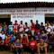Grupo de jovens envolvido na produção do Jornal Salva Verde