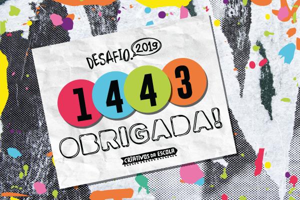 5º Desafio Criativos da Escola recebe mais de 1440 projetos de todo o Brasil