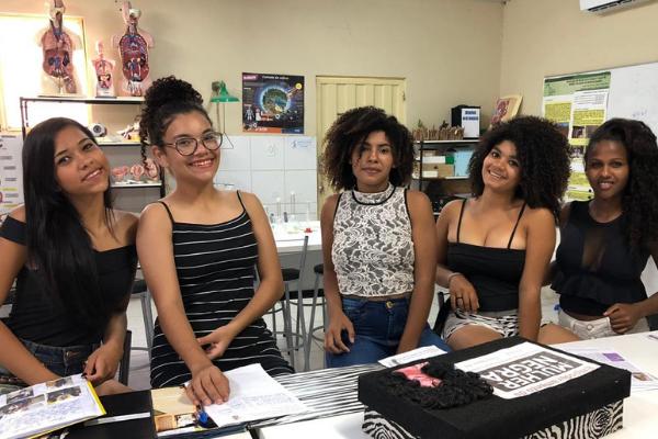 Alunas utilizam história para valorizar mulheres negras de Casa Nova (BA)