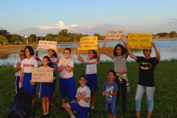 A Liga of Spring, de Rondônia, também participou da gincana