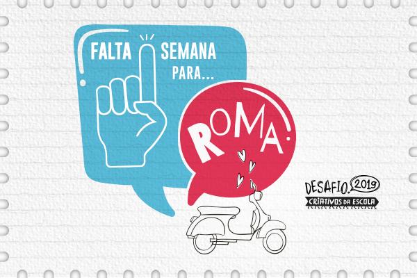 7 grupos de estudantes representam Brasil em conferência global em Roma