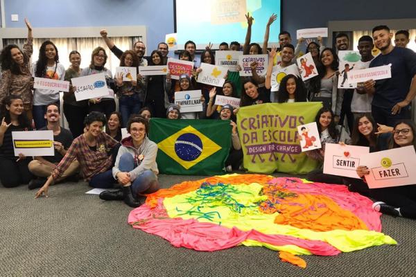 Delegação brasileira chega a Roma para conferência global de estudantes