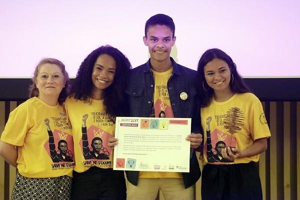 Projeto Ciclo de Estudos sobre História e Culturas Afro-Brasileiras, premiado no Desafio Criativos da Escola 2017