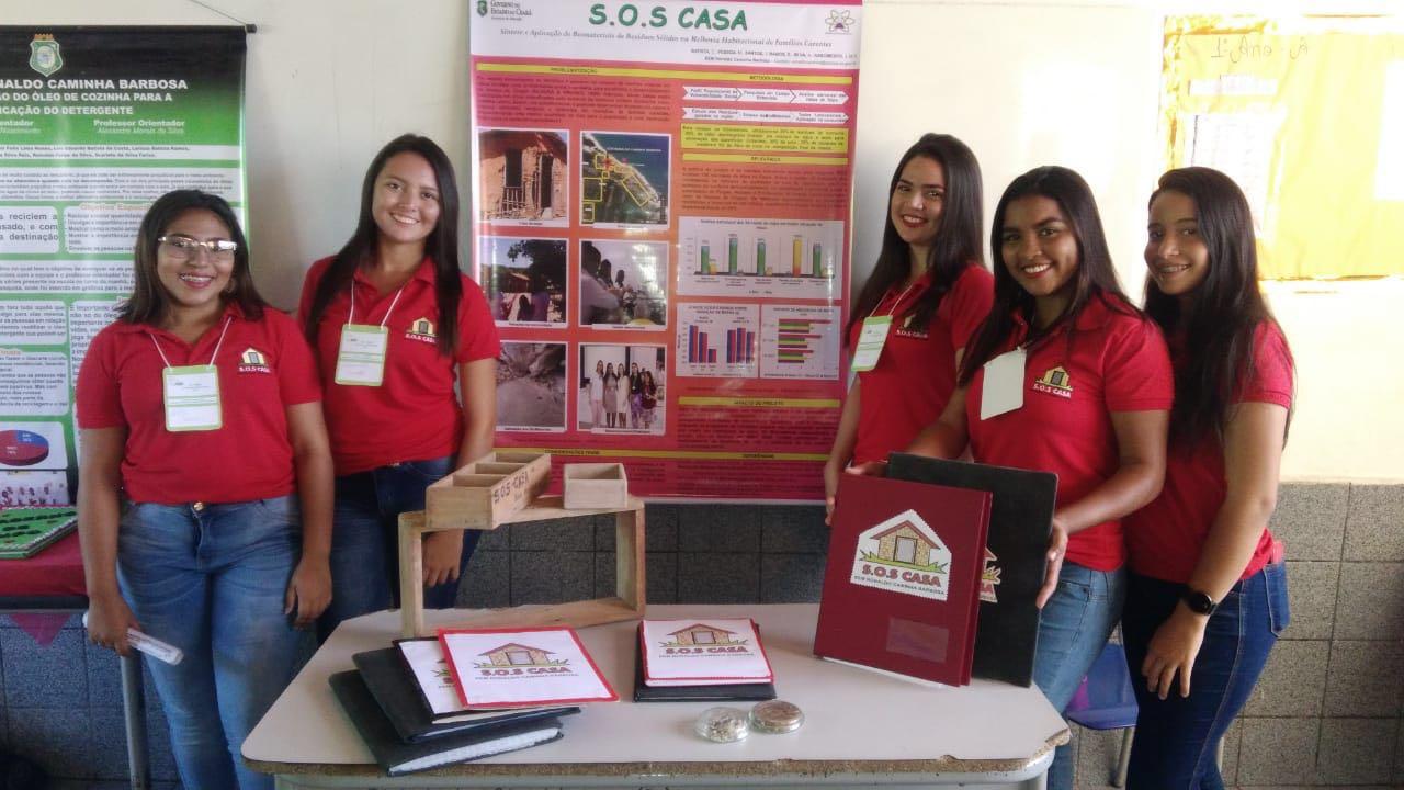 """Projeto """"S.O.S Casa"""", finalista no Desafio Criativos da Escola 2019"""