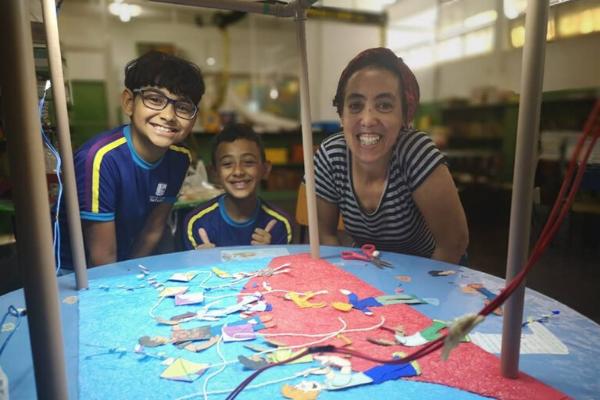 Projeto Luz, Câmera e Ação - finalista no Desafio Criativos da Escola 2019