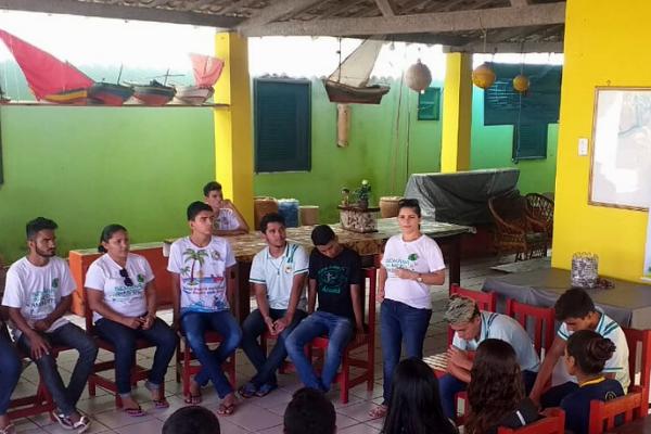 Estudantes mobilizaram escola e comunidade em prol da preservação dos corais/ Divulgação