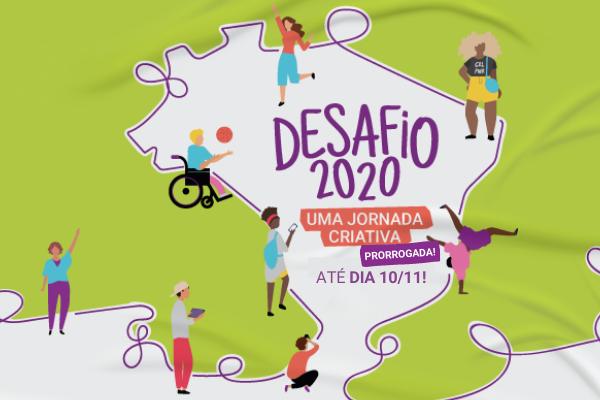Desafio 2020: inscrições prorrogadas até 10 de novembro