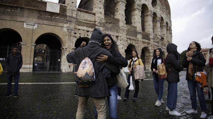 Criativos da Escola se divertem no Coliseu / Alícia Peres